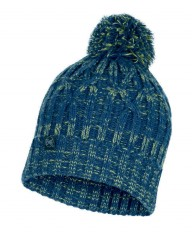Шапка Buff KNITTED & POLAR HAT IDUN DENIM (US:one size)