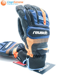 Перчатки горнолыжные REUSCH Stuart R-Tex XT Dress Blue/Orange Popsicle
